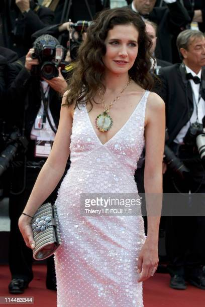 Chloe Lambert attends the 'Habemus Papam' Premiere during the 64th Annual Cannes Film Festival at the Palais des Festivals on May 13, 2011 in Cannes,...