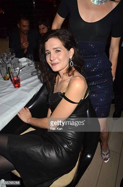 Chloe Lambert attends the Jeweler Edouard Nahum Celebrates 'Sissi' New Ring Launch - Dinner At La Gioia on December 07, 2011 in Paris, France.
