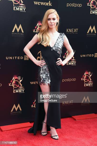 Chloe Lanier attends the 46th annual Daytime Emmy Awards at Pasadena Civic Center on May 05 2019 in Pasadena California