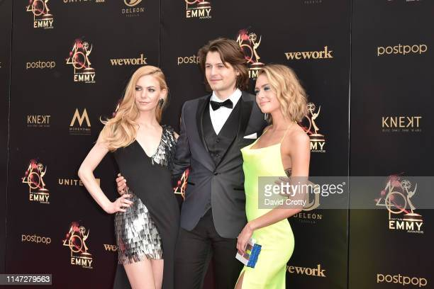 Chloe Lanier Morgan McClellan and Hayley Erin attends the 46th annual Daytime Emmy Awards at Pasadena Civic Center on May 05 2019 in Pasadena...