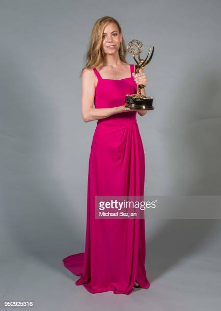 Chloe Lanier poses for portrait at 45th Daytime Emmy Awards Portraits by The Artists Project Sponsored by the Visual Snow Initiative on April 29 2018...