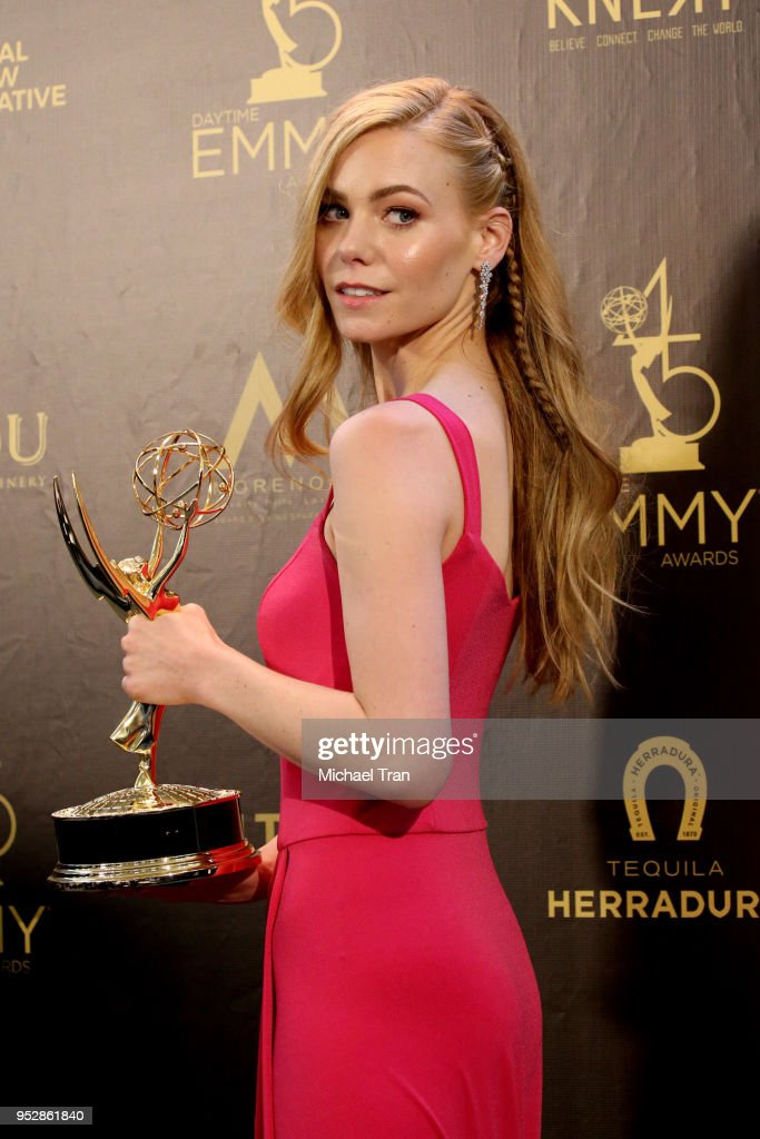 45th Annual Daytime Emmy Awards - Press Room : News Photo