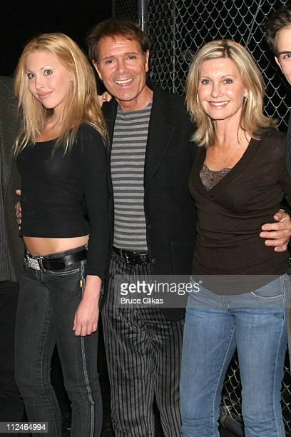 Chloe Lattanzi Cliff Richard and Olivia Newton John