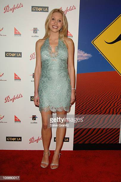 Chloe Lattanzi during G'Day LA Australia Week 2006 Penfolds Icon Gala Dinner Arrivals in Los Angelees California United States