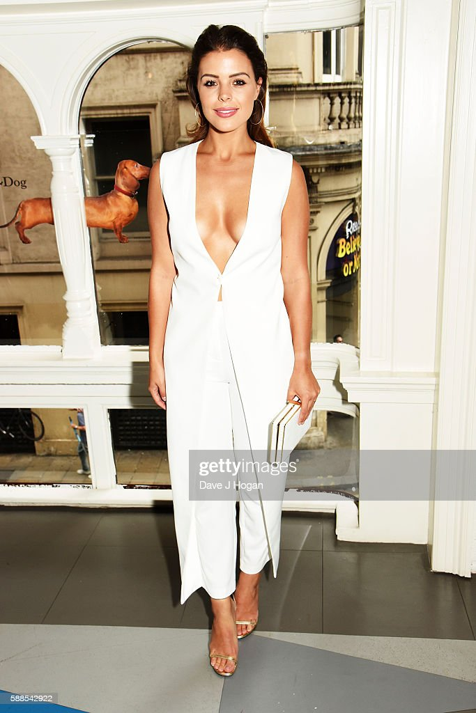 Chloe Lewis attends a special screening of 'War Dogs' at Picturehouse Central on August 11, 2016 in London, England.