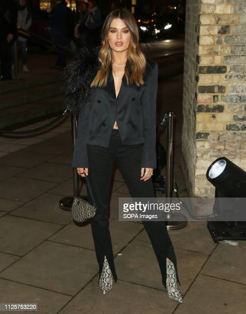 Chloe Lloyd attends the Fabulous Fund Fair as part of London Fashion Week event