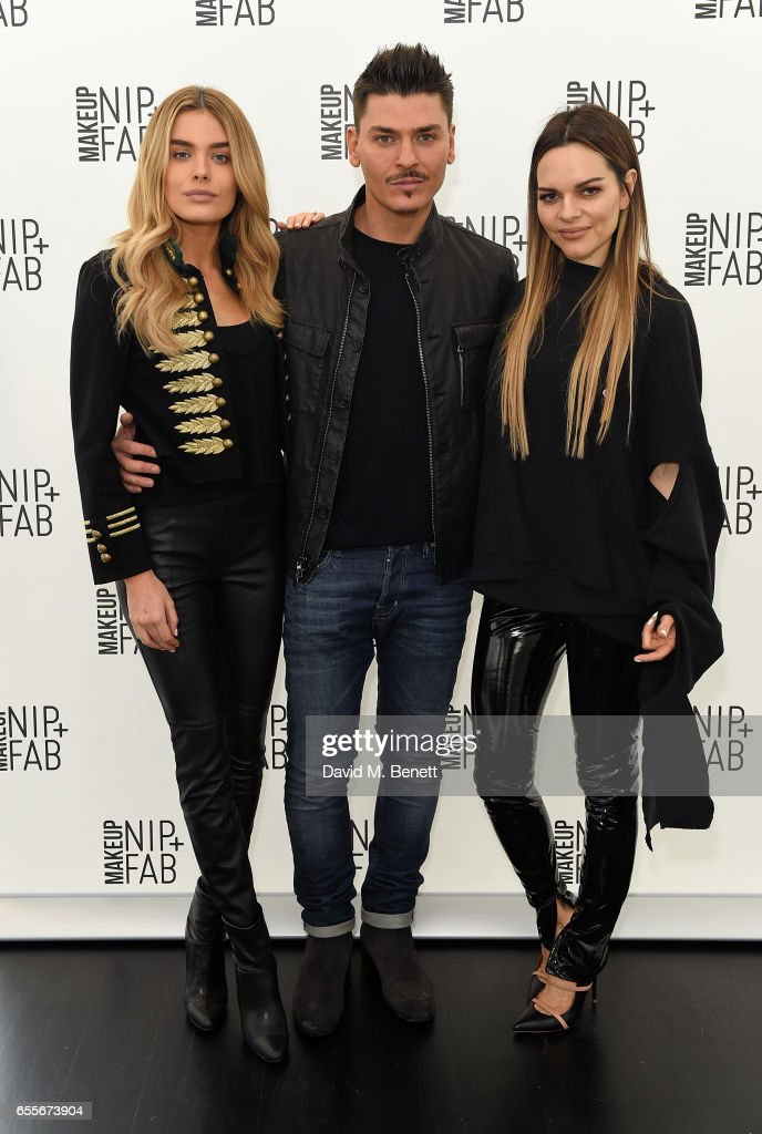 Chloe Lloyd, Mario Dedivanovic And Maria Hatzistefanis Attend The Mario  Dedivanovic U0026 Maria Hatzistefanis Launch