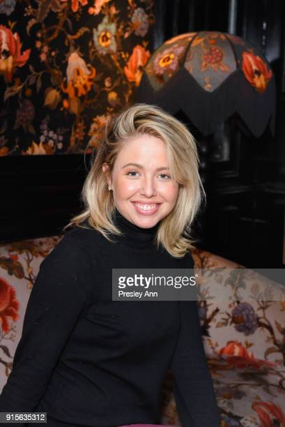 Chloe Lowery attends Leesa Rowland's Animal Ashram PopUp Penthouse on February 7 2018 in New York City