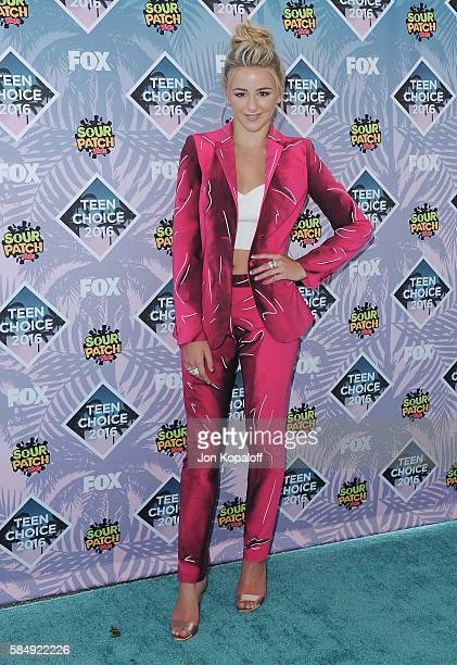 Chloe Lukasiak arrives at the Teen Choice Awards 2016 at The Forum on July 31 2016 in Inglewood California