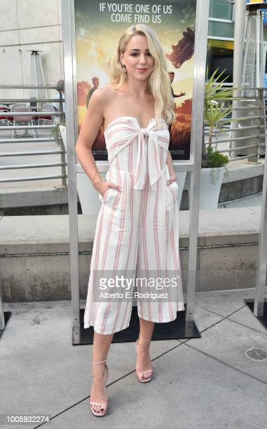 """Chloe Lukasiak attends a screening of 20th Century Fox's """"Darkest Minds"""" at ArcLight Hollywood on July 26, 2018 in Hollywood, California."""