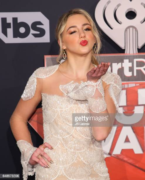 Chloe Lukasiak attends the 2017 iHeartRadio Music Awards at The Forum on March 5, 2017 in Inglewood, California.