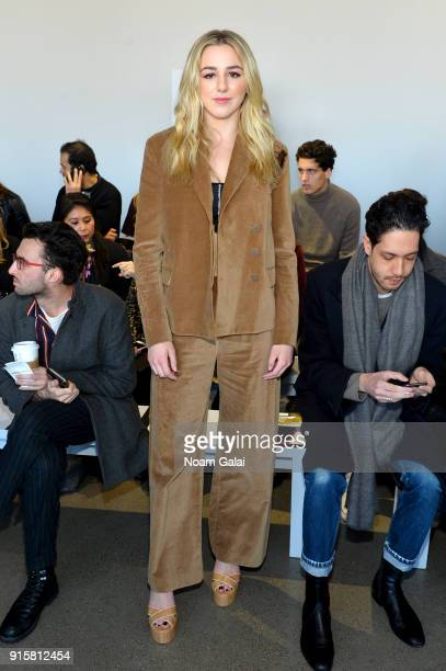 Chloe Lukasiak attends the front row for Noon by Noor during New York Fashion Week The Shows at Gallery II at Spring Studios on February 8 2018 in...