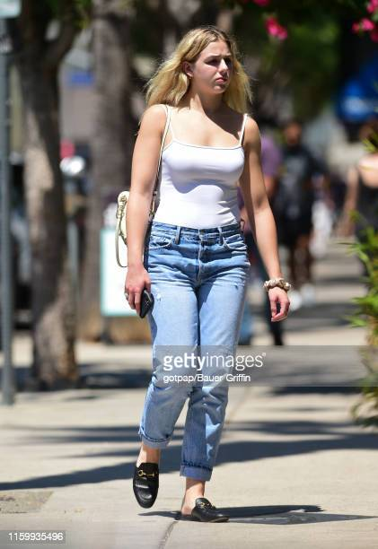 Chloe Lukasiak is seen on August 05 2019 in Los Angeles California