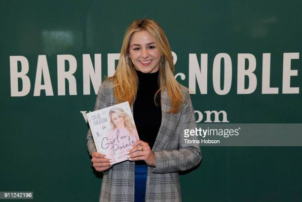 Chloe Lukasiak signs copies of her book 'Girl On Pointe' at Barnes Noble at The Grove on January 27 2018 in Los Angeles California