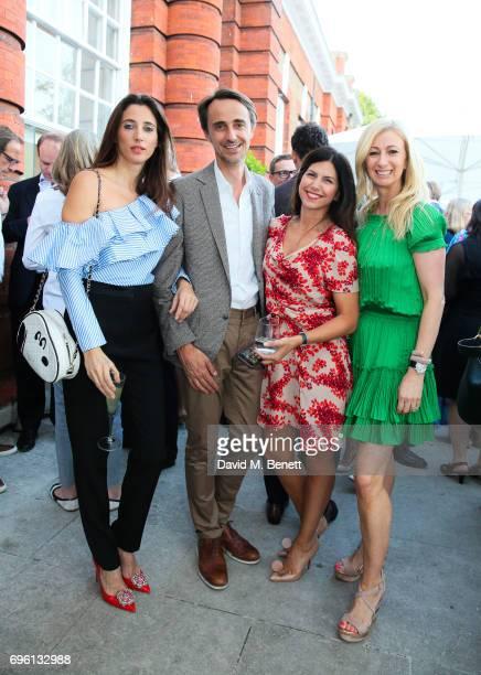 Chloe Macintosh Frederic Court Helia Ebrahimi Jenny Halpern Prince attend the Founders Forums 2017 at Kensington Palace on June 14 2017 in London...