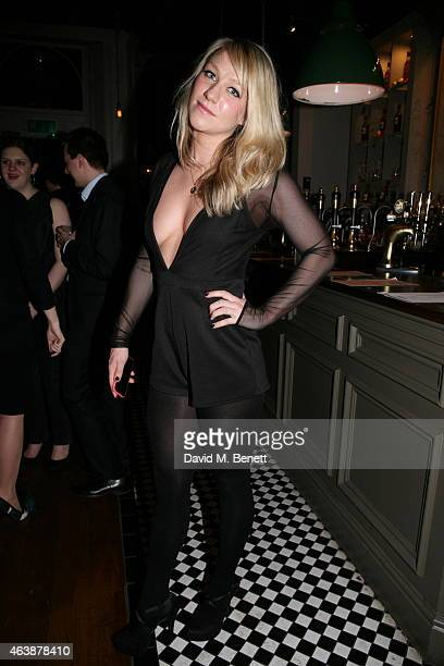 Chloe Madeley attends a Gala Performance of 'Yarico' hosted by show producer Jodie Kidd at the Bijou Theatre London Theatre Workshop on February 19...