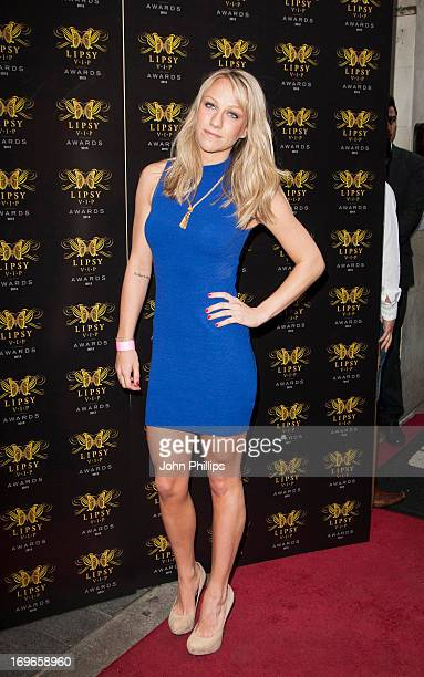 Chloe Madeley attends the Lipsy VIP Fashion Awards 2013 at Dstrkt on May 29 2013 in London England