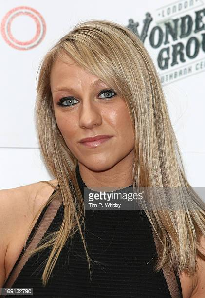 Chloe Madeley attends the press night for 'Limbo' at London Wonderground on May 20 2013 in London England