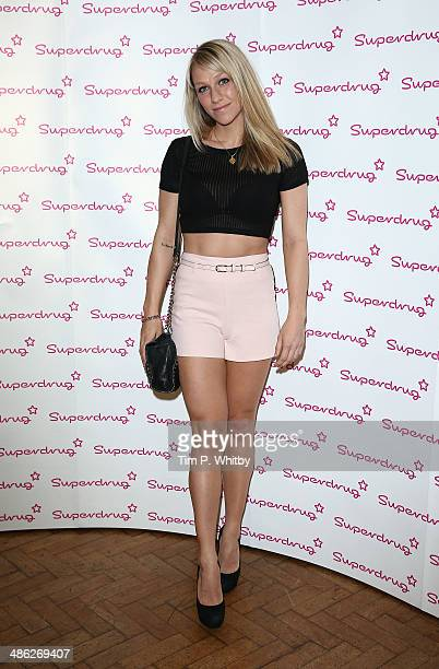 Chloe Madeley attends the Superdrug 50th Birthday celebration at One Marylebone on April 23 2014 in London England