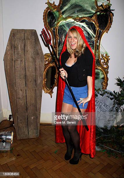Chloe Madeley attends Virgin Media's Tivo Horror Quiz at One Marylebone on October 26 2011 in LondonEngland