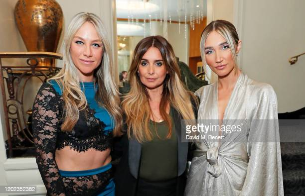 Chloe Madeley Louise Redknapp and Megan McKenna attend the fifth annual British Takeaway Awards in association with Just Eat at The Savoy Hotel on...