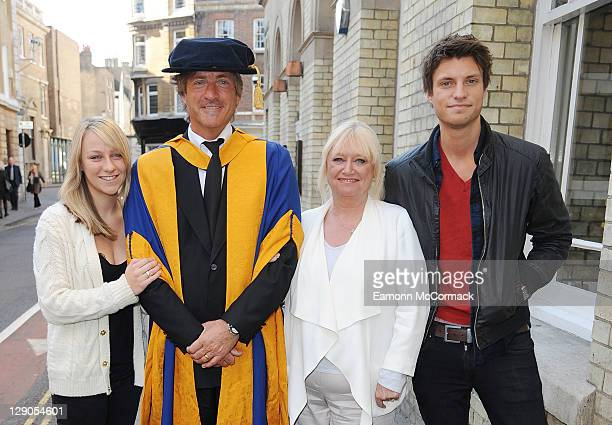Chloe Madeley Richard Madeley Judy Finnegan and Jack Madeley at Angela Ruskin University Graduation Ceremony on October 12 2011 in Chelmsford England