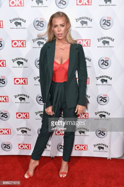 Chloe Meadows attends OK Magazine's 25th Anniversary Party at The View from The Shard on March 21 2018 in London England