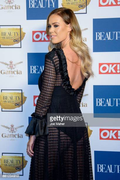 Chloe Meadows attends The Beauty Awards at Tower of London on November 28 2017 in London England