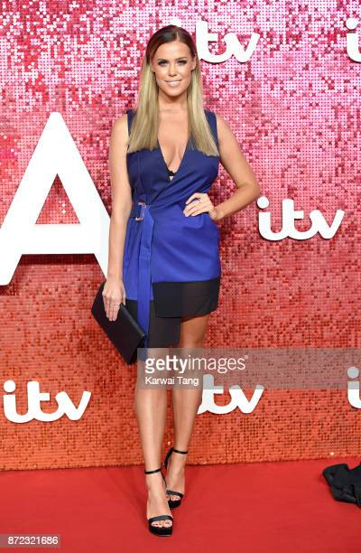 Chloe Meadows attends the ITV Gala at the London Palladium on November 9 2017 in London England