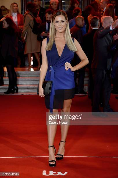 Chloe Meadows attends the ITV Gala held at the London Palladium on November 9 2017 in London England