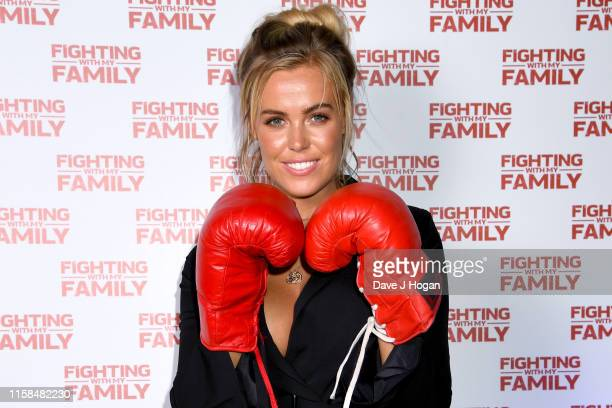 Chloe Meadows during the Fighting With My Family VIP Comedy Night at Rumba on June 26 2019 in London England