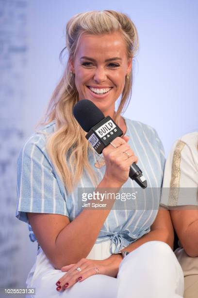Chloe Meadows from 'The Only Way Is Essex' during a BUILD panel discussion on August 31 2018 in London England