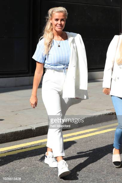 Chloe Meadows from TOWIE seen at BUILD Series LDN at AOL Studios on August 31 2018 in London England