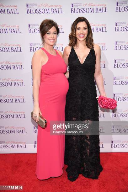 Chloe Melas and Diana Falzone attend Endometriosis Foundation Of America's 10th Annual Blossom Ball on May 08 2019 at Cipriani Wall Street in New...