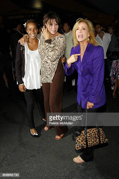 Chloe Mills Michele Lee and Donna Mills attend Corteo Premiere Held at the Cirque du Soleil Arrivals at Cirque du Soleil on August 23 2007 in...