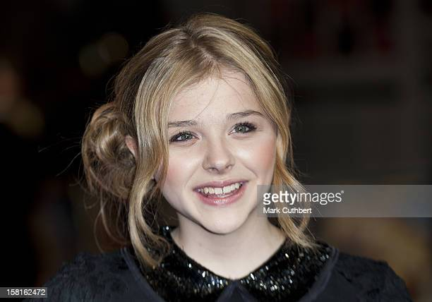 Chloe Moretz Attends The Royal Film Premiere Of 'Hugo' At The Odeon Leicester Square In London