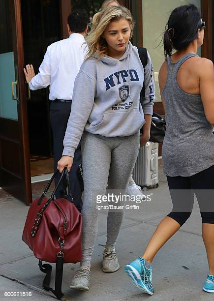 Chloe Moretz is seen on September 08 2016 in New York City