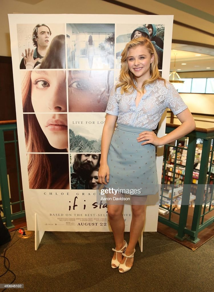 Chloe Moretz signs copies of the book 'If I Stay' at Barnes & Noble on August 1, 2014 in Miami, Florida.