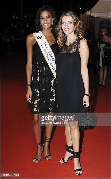 Chloe Mortaud and Sylvie Tellier in Deauville France on September 05th 2009