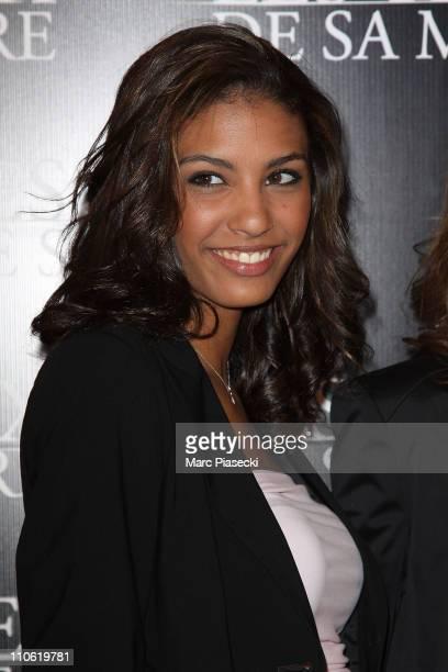 Chloe Mortaud attends the 'Les yeux de sa mere' Paris Premiere on March 22 2011 in Paris France