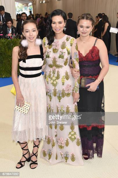 Chloe Murdoch Wendi Deng and Grace Helen Murdoch attend the Rei Kawakubo/Comme des Garcons Art Of The InBetween Costume Institute Gala at...