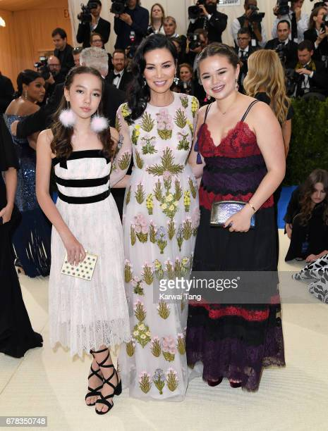 Chloe Murdoch Wendi Deng Murdoch and Grace Murdoch attend the Rei Kawakubo/Comme des Garcons Art Of The InBetween Costume Institute Gala at the...