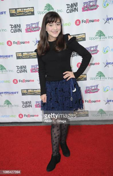 Chloe Noelle attends Danielle Cohn's Music Video Release Party For Lights Camera Action held at Starwest Studios on January 19 2019 in Burbank...