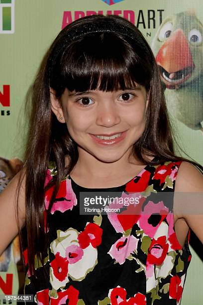 Chloe Noelle attends the Delhi Safari Los Angeles premiere at Pacific Theatre at The Grove on December 3 2012 in Los Angeles California