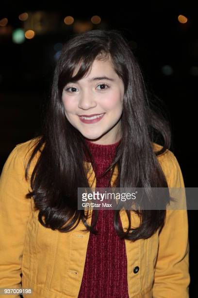 Chloe Noelle is seen on March 22 2018 in Los Angeles CA
