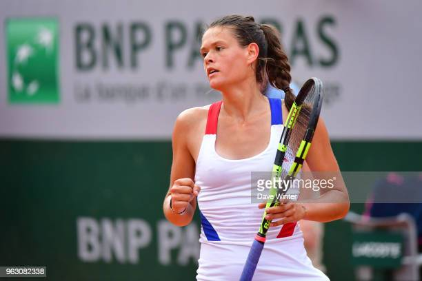 Chloe Paquet during Day 1 of the the French Open at Roland Garros on May 27 2018 in Paris France