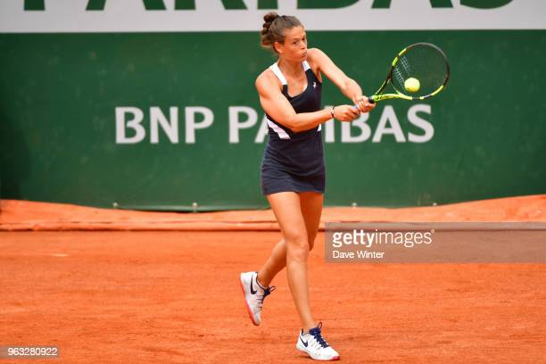Chloe Paquet during Day 2 of the French Open 2018 on May 28 2018 in Paris France