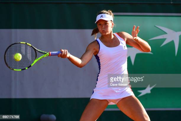 Chloe Paquet during day 3 of the French Open at Roland Garros on May 30 2017 in Paris France