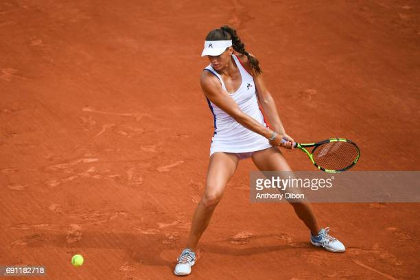 Chloe Paquet of France during the day 5 of the French Open at Roland Garros on June 1 2017 in Paris France