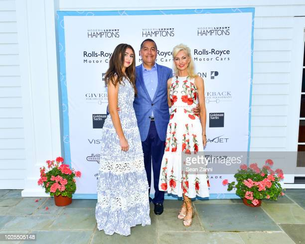 Chloe Peebles R Donahue Peebles and Katrina Peebles attend Peebles Corporation And RollsRoyce Saddle Up With Georgina Bloomberg Give Back For Special...